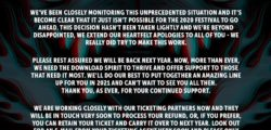 Download Festival 2020 abgesagt