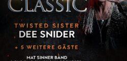 Dee Snider für Rock Meets Classic bestätigt